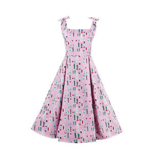 NWT 50s style retro a line cocktail dress